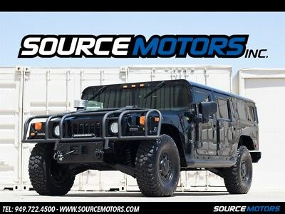 2003 Hummer H1 Wagon 4dr Turbodiesel 2003 Hummer H1 Wagon, Turbo Diesel, Leather, Custom Stereo, D-Ring Brush Guard