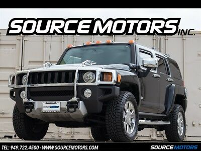H3 X 2008 Hummer H3 X, Black Metallic, Black Interior, Brush Guard, Running Boards