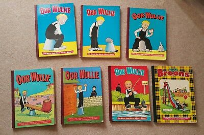 1960s 70s  Oor Wullie Books + Broons