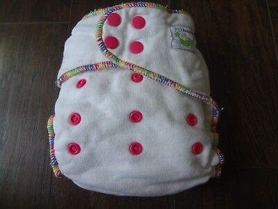 Sweet Pea One Size Fitted Diaper