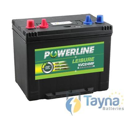 XVC24MF Powerline Batterie Camping Bateau 12V