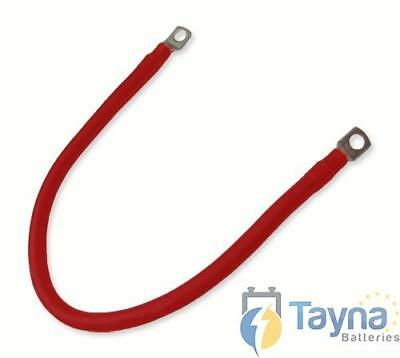 Red Batterie Cable 30cm x 25mmsq with 10mm Eyelets