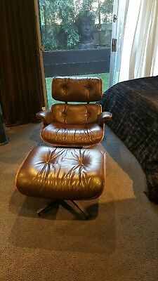Surprising Authentic Vintage Rosewood Herman Miller Eames Lounge Chair Gamerscity Chair Design For Home Gamerscityorg