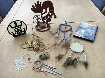 Native American Indian dreamcatchers plus other items