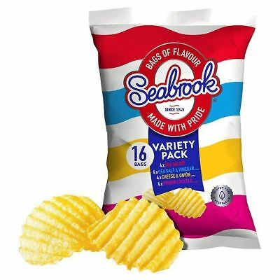 Seabrook Variety Multipack 25g x 16 per pack