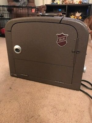 Vintage Bell and Howell B & H Filmosound 185 16MM Film Projector Untested Parts