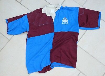 Men's Rugby Shirt Metropolitan Police (Hayes) RFC with crest XL Blue/Red