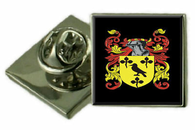 Select Gifts Poulton England Family Crest Surname Coat Of Arms Cufflinks Personalised Case