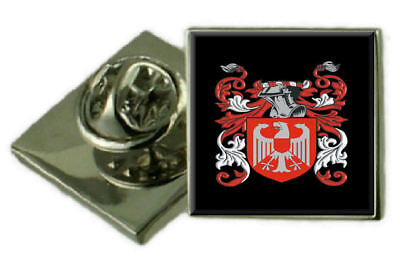 Select Gifts Hambley England Family Crest Surname Coat Of Arms Cufflinks Personalised Case