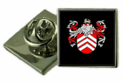 Select Gifts Caulton England Family Crest Surname Coat Of Arms Cufflinks Personalised Case