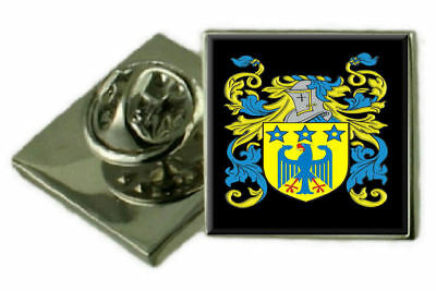 Select Gifts Vahan Wales Family Crest Surname Coat Of Arms Gold Cufflinks Engraved Box