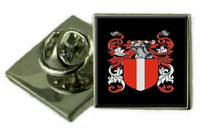 Select Gifts Mccarten Ireland Family Crest Surname Coat Of Arms Cufflinks Personalised Case