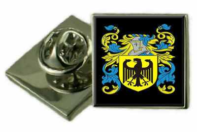 Select Gifts Kirkwood Scotland Family Crest Surname Coat Of Arms Cufflinks Personalised Case