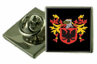 Select Gifts Thubron Scotland Family Crest Surname Coat Of Arms Gold Cufflinks Engraved Box