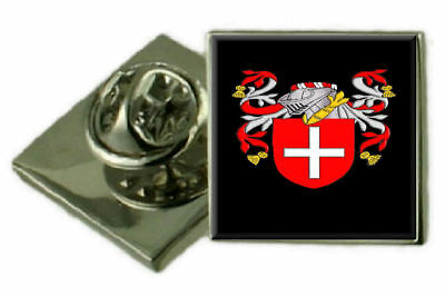 Select Gifts Clark Scotland Family Crest Surname Coat Of Arms Cufflinks Personalised Case