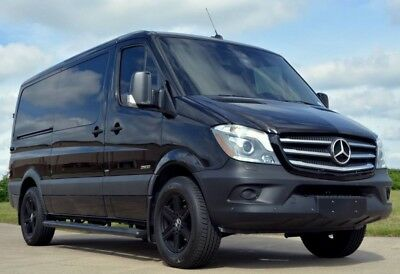2016 Mercedes-Benz Sprinter  2016 Mercedes-Benz Sprinter 9 Passenger Custom Van Quilted Leather Captains 3 TV