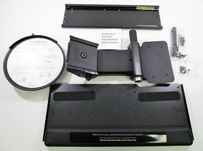 """Humanscale 6G 950 19"""" Keyboard Tray Slider with 18"""" track & 8.5"""" Mouse Platform"""