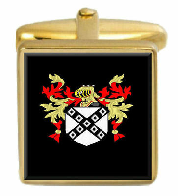 Select Gifts Maclaren Scotland Heraldry Crest Sterling Silver Cufflinks Engraved Box