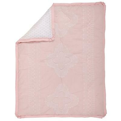 Chantilly Comforter Only by NoJo- Pink, White