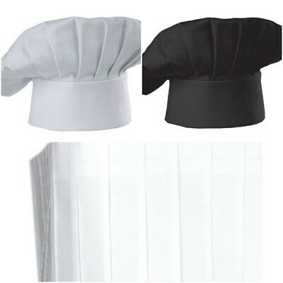 Chef Hat Adjustable Elastic Baker Kitchen Cooking Hat Adult Restaurants Chef Cap