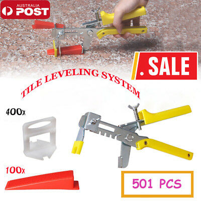 400~4000 PCS Tile Leveling System Clips Levelling Spacer Tiling Tool Floor Wall