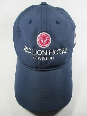 d7cefce18ad081 Red Lion Hotel Lewiston NP Nike Blue Baseball Golf Cap Hat Great Condition