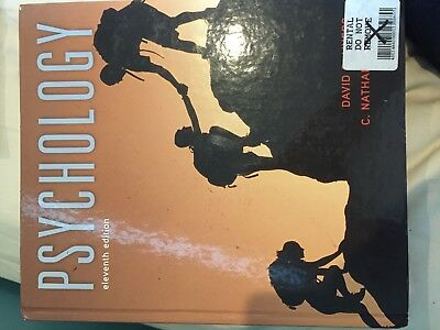 Psychology Eleventh Edition by David G. Myers and C. Nathan Dewall