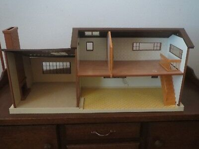 Tomy Smaller Homes and Gardens Dollhouse 1970's Vintage  Made in USA