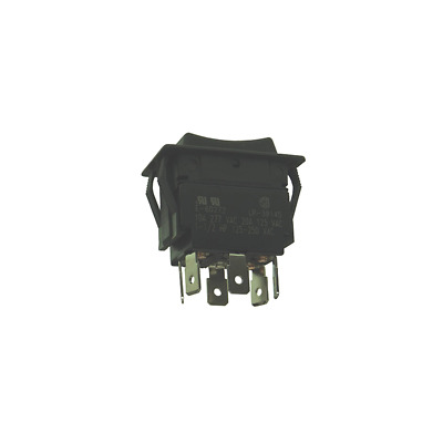Philmore 30-695 LKG Double Pole Heavy Duty Momentary Switch - DPDT/(On) - Off