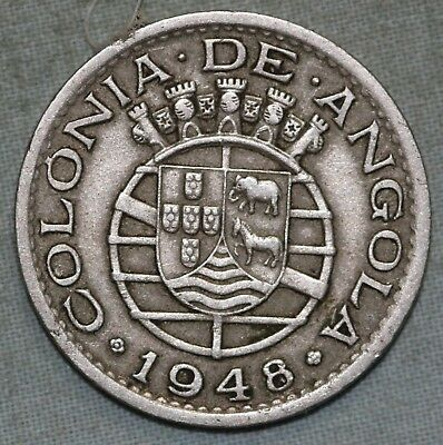 Angola  Africa ( Portuguese colony) ~ 50 Centavos Combined S.& H.