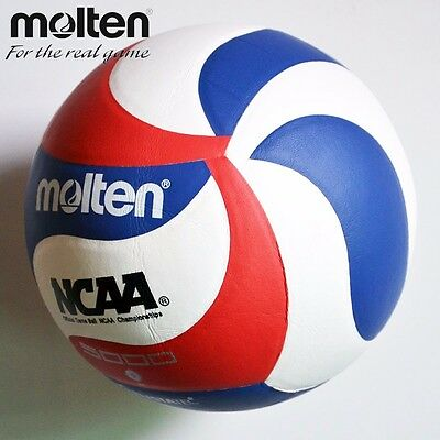 Touch Volleyball Ball Molten 5v5m5000 Official Indoor Outdoor Game Leather Soft