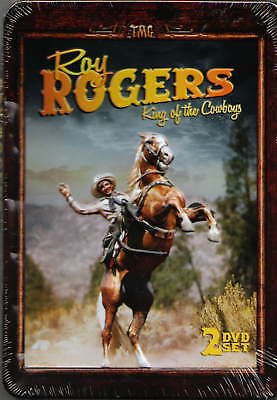 Roy Rogers: King Of The Cowboys (DVD, 2012, 2-Disc Set) NEW SEALED In Metal Tin