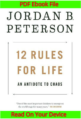 12 rules for life an antidote to chaos by jordan b peterson pdf