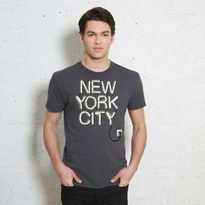 Urban Outfitters Paste NYC Neon T – Shirt Size M b4749ecbaaf