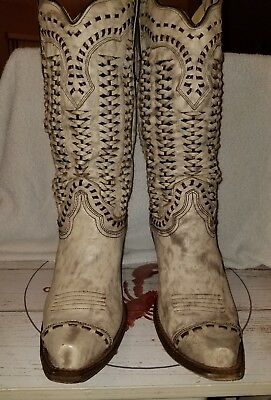 Corral Braided Boots Size 9