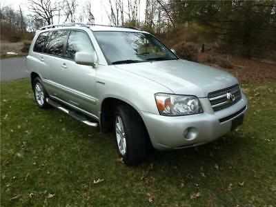 Highlander Limited w/3rd Row 2007 Toyota Highlander Hybrid Limited 4WD 3rd Row NAV JBL No Reserve
