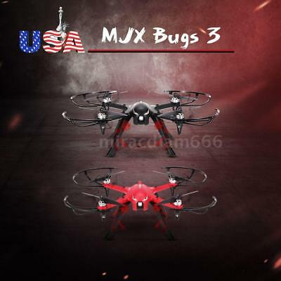 MJX Bugs 3 2.4G 6-Axis Brushless Motor Drone Action Camera RC Quadcopter U2D9