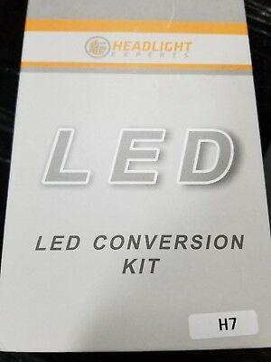 LED CONVERSION KIT LOW BEAM H7 by HEADLIGHT EXPERTS new in box