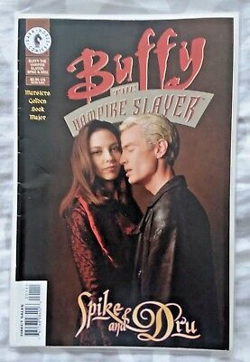 Buffy the Vampire Slayer: Spike and Dru PHOTO Cover VF+ (1999 Dark Horse)