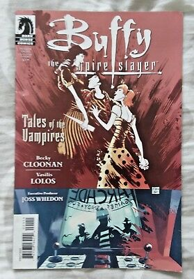 Buffy the Vampire Slayer: Season 8 Tales of the Vampires VF/NM (2009 Dark Horse)