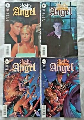 Buffy the Vampire Slayer: Angel VF/NM - #1-3 LOT of 4 (1999 Dark Horse Comics)