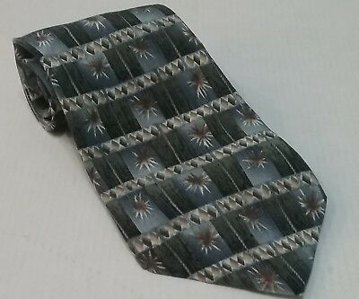 Jimmy V Mens Silk Neck Tie Jamal Anderson Collection Made in USA by Stonehenge