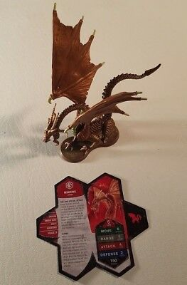 Heroscape Mimring RIse of the Valkyrie figure with card