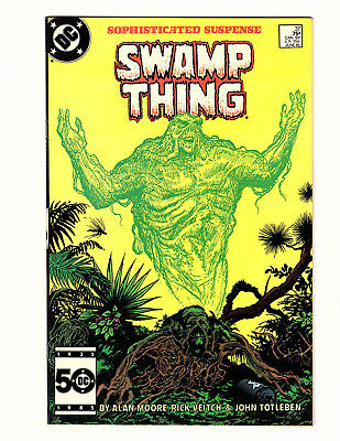 Swamp Thing #37 (1985, DC) VF- Vol 2 Alan Moore Veitch 1st App John Constantine
