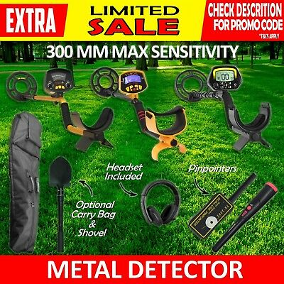 Deep Sensitive Metal Detector Searching Gold Digger Treasure Hunter LCD Gift kid