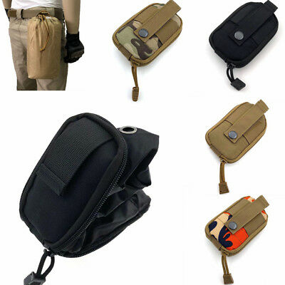 1PC Waterproof Outdoor Folding Dump Pouch Tactical Hiking Camping Molle Bags
