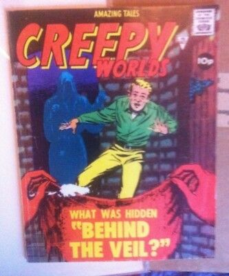 Creepy Worlds Comic