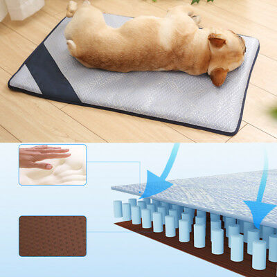 Prt Summer Non-Toxic Cool Pad Bed Cooling Chilly Mat Dog Cat Heat Relief Mat