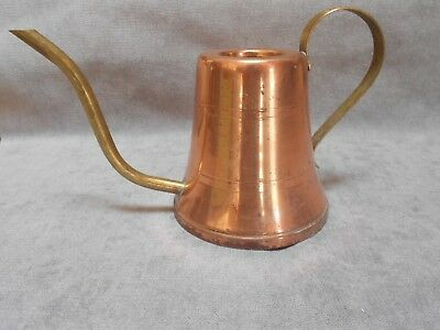 FRENCH  Vintage COPPER & Brass WATERING CAN