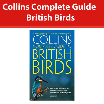 Collins Complete Guide To British Birds by Paul Sterry [Paperback] Book NEW
